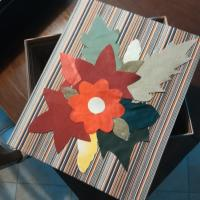 Scatola decorata con stoffa - Luisa C.
