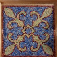 Vassoio a mosaico - Giada M.