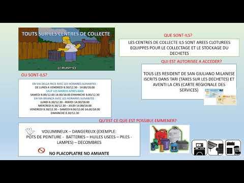 Tutte le info sui centri di raccolta rifiuti
